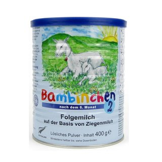 Blauer Planet Bambinchen 2 Baby Goat Powder 400 g not organic