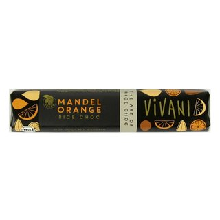 Vivani Rice Choc Mandel Orange Riegel bio vegan 35 g