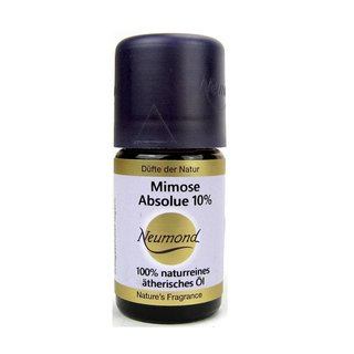 Neumond Mimose Absolue 10% ätherisches Öl in Bio Weingeist 5 ml