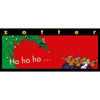 Zotter Ho ho ho Honey Nuts Chocolate gluten free organic 70 g