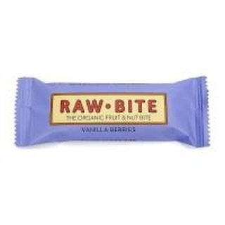 Raw Bite Vanilla Berries Fruit & Nut Riegel vegan bio 50 g
