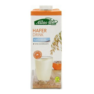 Allos Hafer Drink naturell vegan bio 1 L