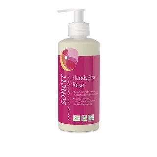 Sonett Handseife Rose vegan 300 ml