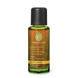 Primavera Seabuckthorn Oil body oil organic 30 ml